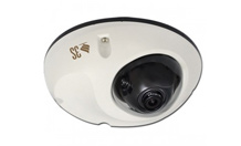 3S Outdoor Vandal-resistant 5.0 Megapixel Network IP Mini Dome Camera with Transit Vibration Rating