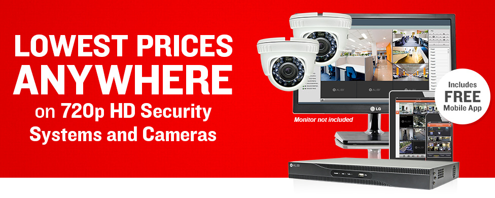 Lowest Prices Anywhere on Professional 720p Systes