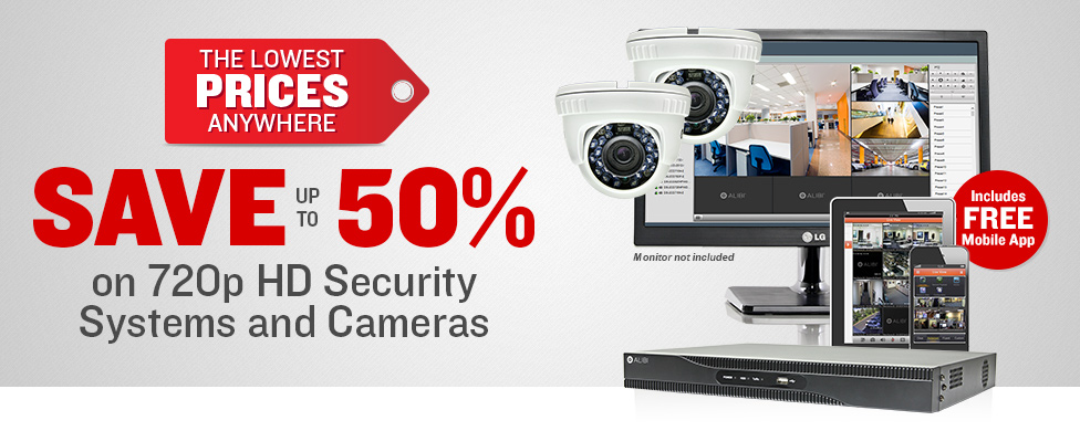 Lowest Prices Anywhere on Professional 720p Systems