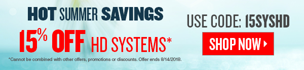 Save 15% on HD security systems plus free shipping. Hurry offer ends 08/14/2018.