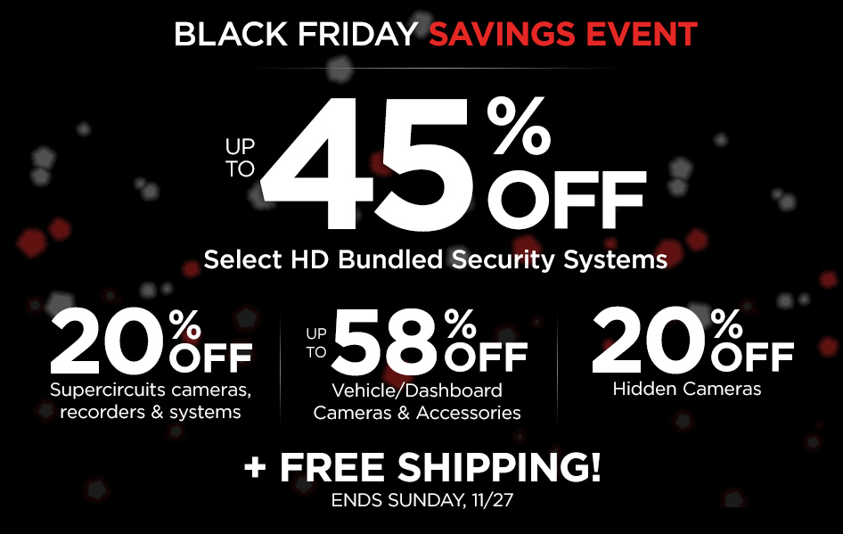 BLACK FRIDAY DEALS! Hurry, ends 11/27/16!