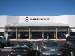 Supercircuits building exterior