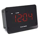 720P HD Wi-Fi Night Vision Clock Radio Hidden Camera