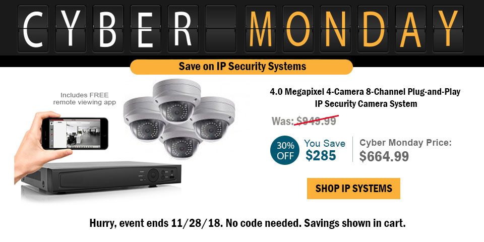 Shop IP Security Systems