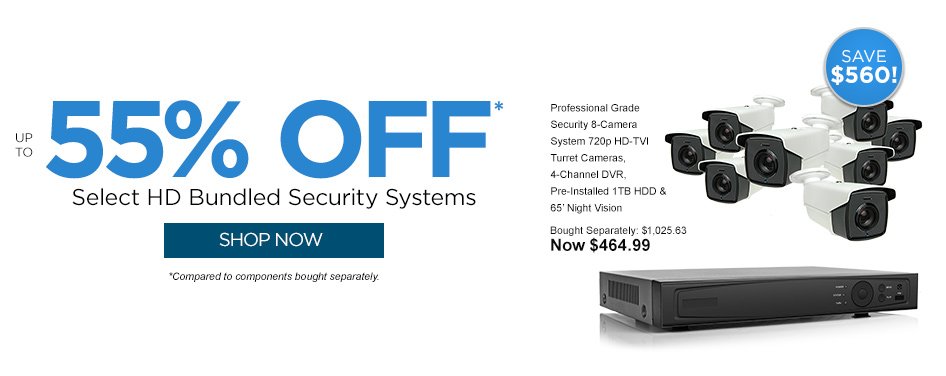 Shop Security Bundles