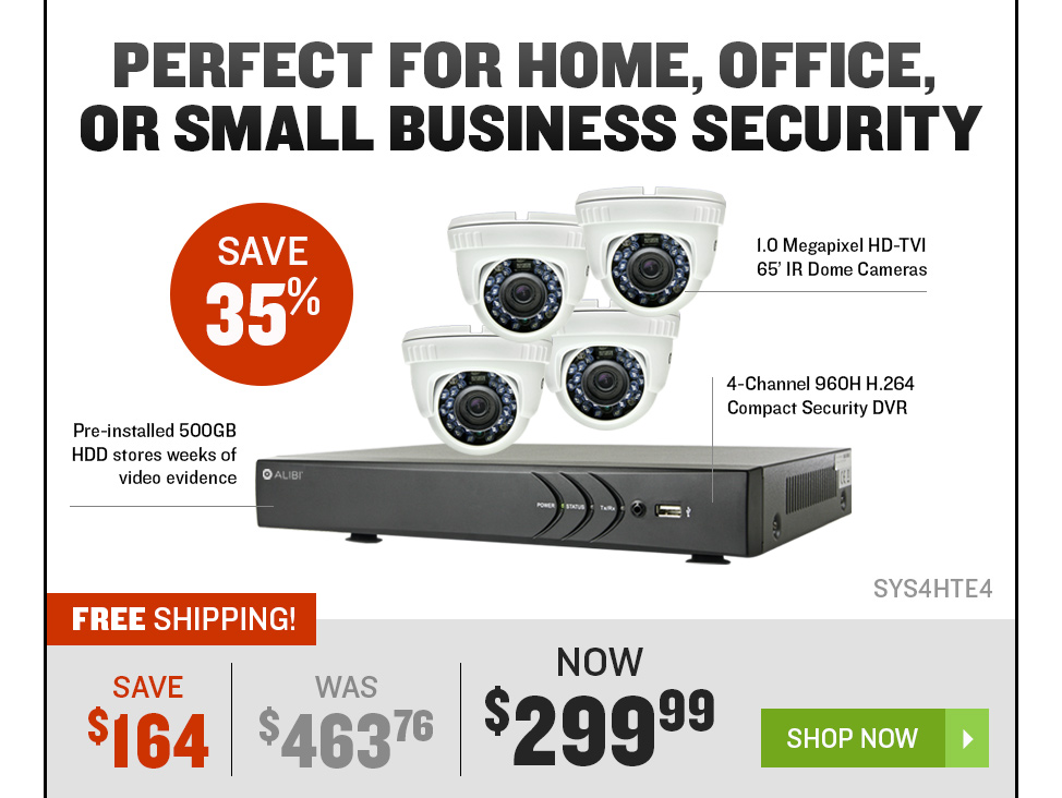 Perfect for home, office, or small Business security