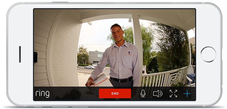 Answer your door from anywhere with your smartphone