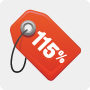 115% Low Price Guarantee