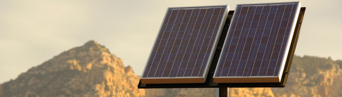 Solar Power in Security Applications