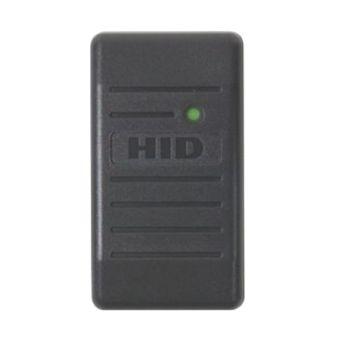 HID ProxPoint Plus Gray Mini Mullion Access Control Reader