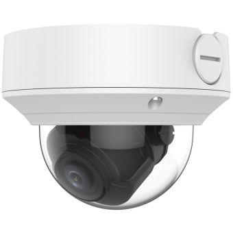 4 Megapixel Starlight Varifocal Vandal-Resistant IP Dome Camera, 131 Feet Night Vision