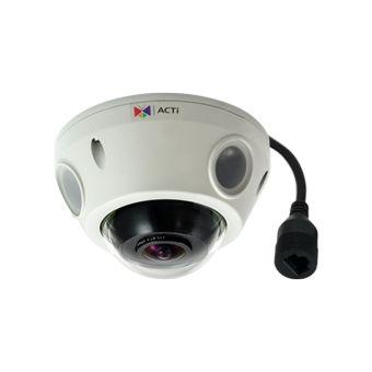 ACTi 5MP 50' IR WDR IP Fisheye Security Camera