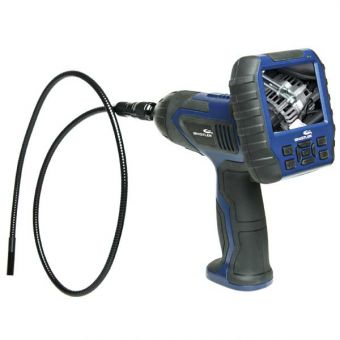 Wireless Inspection Camera with DVR and Detachable LCD Monitor