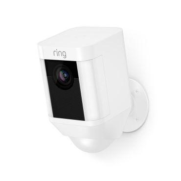 Ring™ Battery Powered Spotlight Camera with 2-Way Talk - White