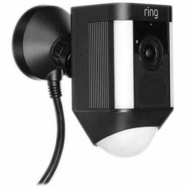 Ring™ Wired Spotlight Camera with 2-Way Talk - Black