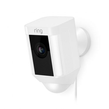 Ring™ Wired Spotlight Camera with 2-Way Talk - White