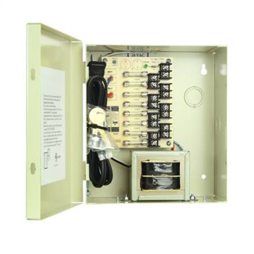 8 Camera Power Supply - 24 Vac 8.4 Amp [OPEN BOX]
