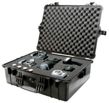 Pelican 1600 IP67 Black Case