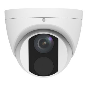 4.0 Megapixel Mini Fixed Turret Network Camera, 98' Night Vision With Built-in Mic