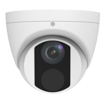 4.0 Megapixel Mini Fixed Turret Network Camera, 98' Night Vision