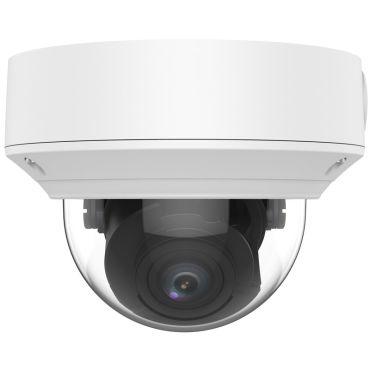 5 Megapixel Starlight Varifocal Vandal-Resistant IP Dome Camera, 131 Feet Night Vision