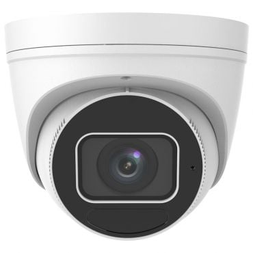 4 Megapixel Starlight Varifocal Vandal-Resistant IP Turret Camera, 131 Feet Night Vision