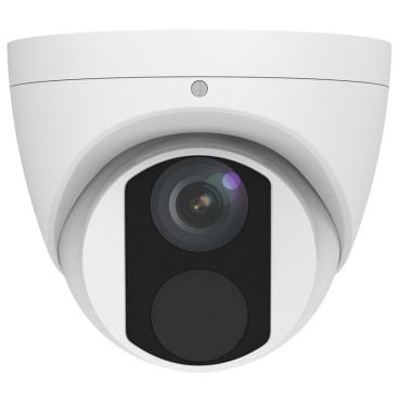 8 Megapixel Fixed IP Turret Security Camera, 98 feet Night Vision