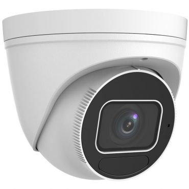 8 Megapixel Starlight Varifocal Vandal-Resistant IP Turret Camera, 131 Feet Night Vision