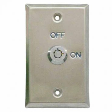 Interview Room Keyed On and Off Wall Switch