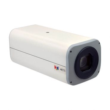 ACTi 5MP WDR IP 10x Zoom Box Security Camera