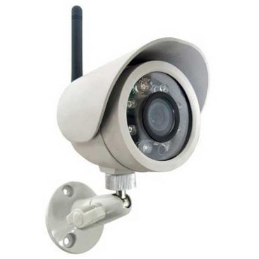 Add-on Wireless 30 ft IR Outdoor Security Camera for SleuthGear Quad Receivers [OPEN BOX]