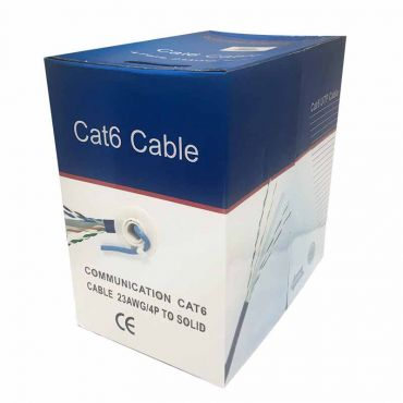 1000 ft CAT6 550 MHz Network Data Cable