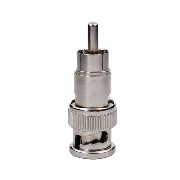 Male RCA to Male BNC Adapter