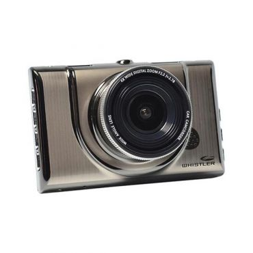 Whistler 1080p HD Suction Mount Dash Camera with DVR