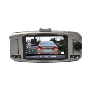 Whistler Dual 1080p HD Windshield Mount Dash Camera with DVR