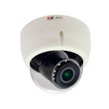 ACTi 3MP 100' IR WDR IP Indoor PTZ Dome Security Camera