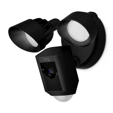 Ring™ Video Floodlight with 2-Way Talk and Siren - Black