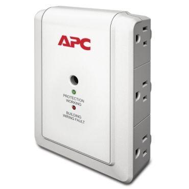 APC Essential SurgeArrest 6 Outlet Wall Mount, 120V
