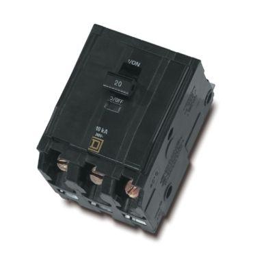 APC PDU 3-Pole 20 AMP, Bolt-on, Square D Breaker
