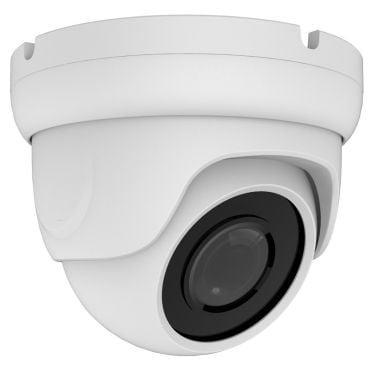 2 Megapixel HD-TVI/AHD/CVI/CVBS Fixed Turret Security Camera with 65 ft Night Vision