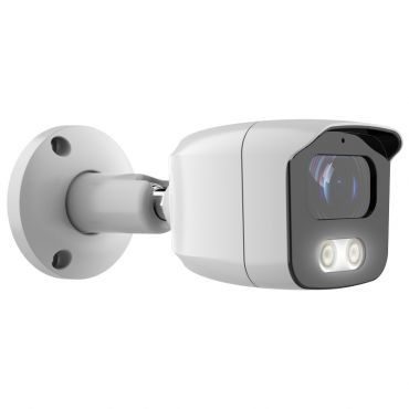 5 Megapixel 4-in-1 HD-TVI/AHD/CVI/CVBS Fixed Bullet Security Camera with 80 ft Night Vision