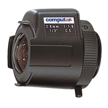2.6mm DC Auto Iris CS-Mount Lens