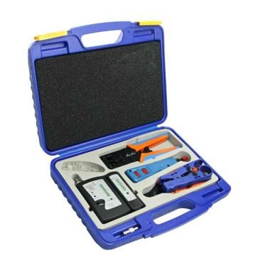 Network Installation Tool Kit with Cable Tester