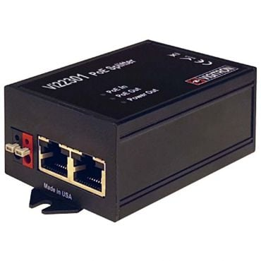 Vigitron MaxiiPower IEEE 802.3af/at 60W PoE Splitter w/ a 30W PoE Port & 12/24